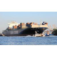 4871 CMA CGM OTELLO - Lotsenboot am Bug des Containerschiffs |