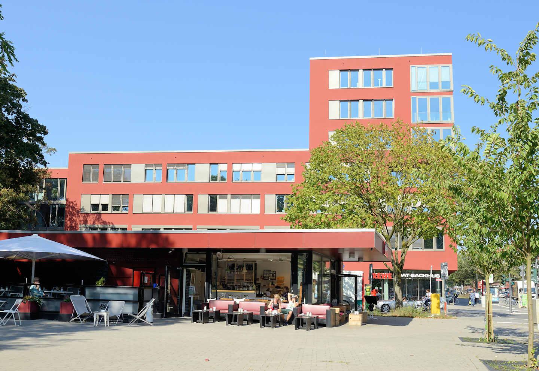 2712 moderne architektur beim ehemaligen krankenhaus for Moderne architektur hamburg