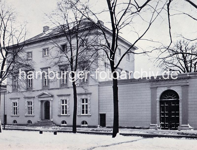 9870_70_15 Altes Bild von der Architektur in der Altonaer Palmaille (ca. 1937) | Palmaille - Fotos historischer Architektur in Hamburg Altona.